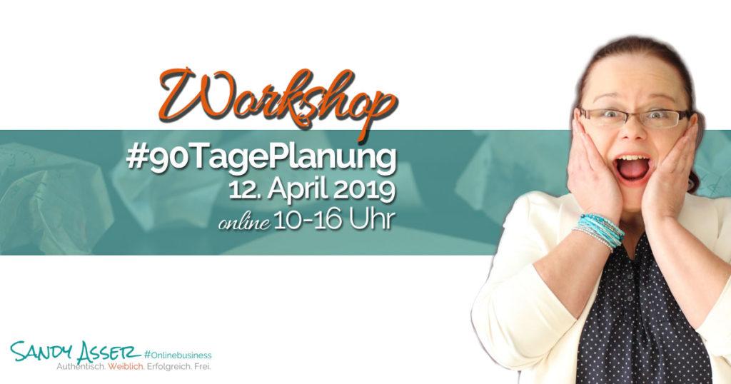 90 Tage Planungsworkshop