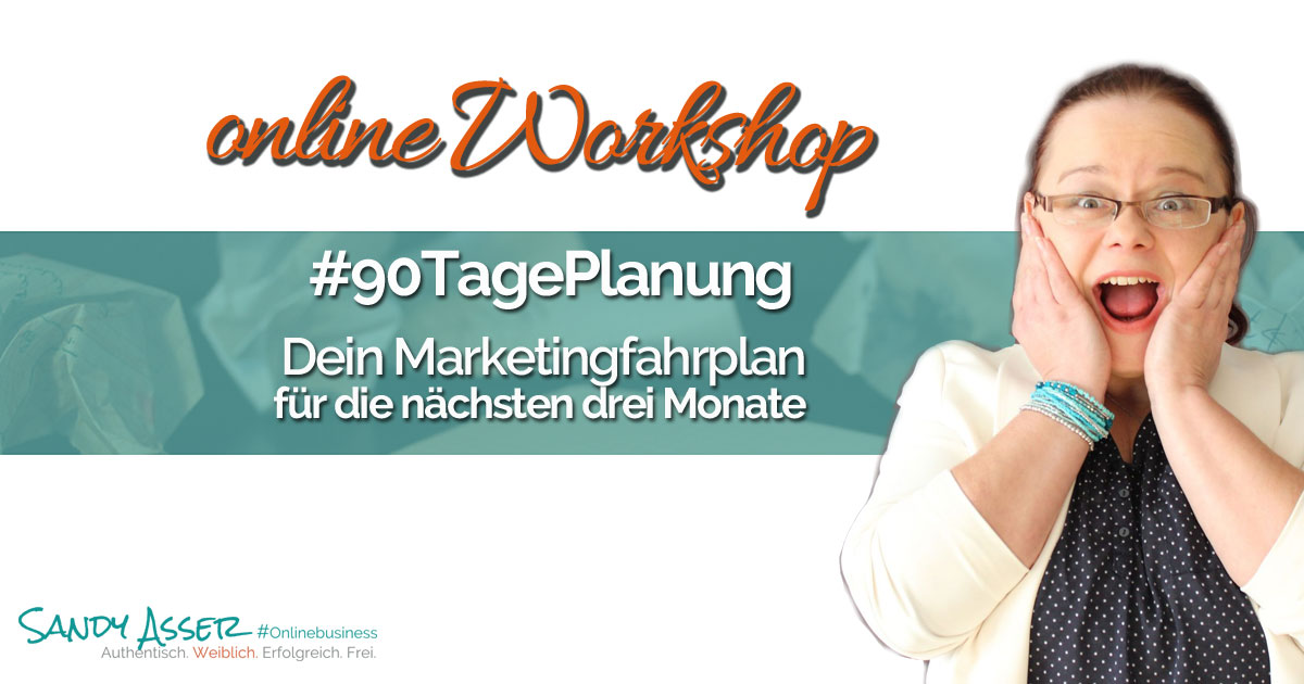90 Tage Marketing Planungs Workshop