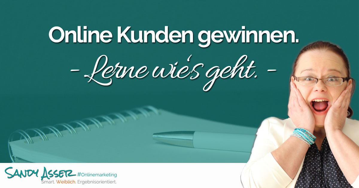 Onlinemarketing Training - Online Kunden gewinnen